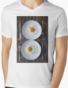 fried eggs Mens V-Neck T-Shirt