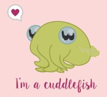 I'm a Cuddlefish One Piece - Short Sleeve