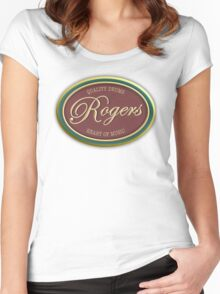Rogers Vintage Women's Fitted Scoop T-Shirt