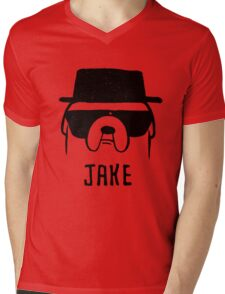 Adventure Time - Big Dog (Jake) Mens V-Neck T-Shirt