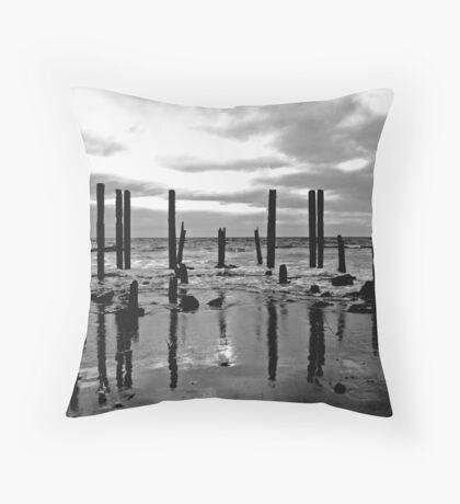 Port Willunga, Fleurieu Peninsula, SA. Throw Pillow
