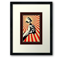 Coffee Revolution! Framed Print