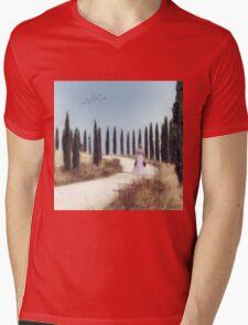 Tuscany Mens V-Neck T-Shirt