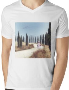 Tuscany Mens V-Neck T-Shirt