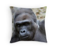 Contemplating Throw Pillow