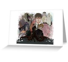 Tokyo Ghoul group Greeting Card
