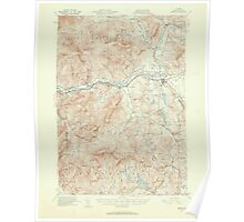 Maine USGS Historical Map Bethel 306467 1940 62500 Poster