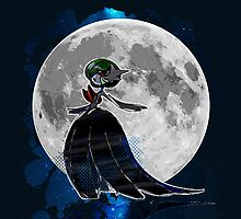 Pokemon - Gardevoir magical night by Domadraghi