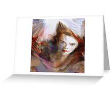 """Dream Angel"" © 2008 Brad Michael Moore Greeting Card"