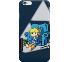 Just Wind Wakin' Up (Legend of Zelda Wind Waker) iPhone Case/Skin