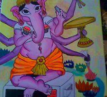 EZ bake Ganesha by Cakelin