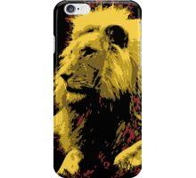 Lion Order Real Lion iPhone Case/Skin