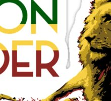 Lion Order Real Lion Sticker