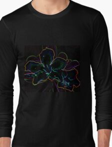 Flower Glow T-shirt Long Sleeve T-Shirt