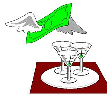 Martinis And Money by kwg2200