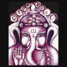Ganesha Radiating Love by whittyart