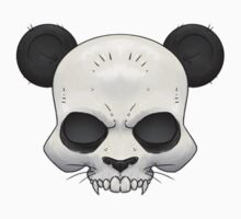 Skull Panda  One Piece - Long Sleeve