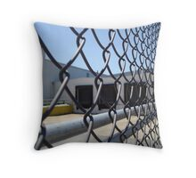 Closed Down..........Series Throw Pillow