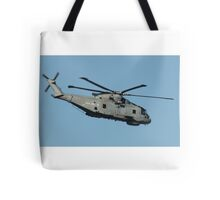Royal Navy Merlin Helicopter. Tote Bag