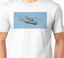 Royal Navy Merlin Helicopter. Unisex T-Shirt