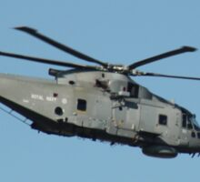 Royal Navy Merlin Helicopter. Sticker