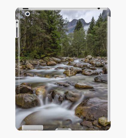 Austria: Hiking in the rain iPad Case/Skin