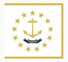 Rhode Island State Flag by VeteranGraphics