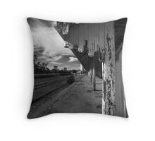 Old Railway Station at Burra Throw Pillow
