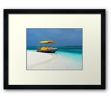 Floats my boat Framed Print