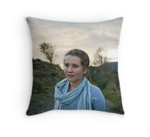 Violet Hour Throw Pillow