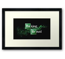 Baking Bread Framed Print