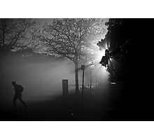 Foggy Walk Photographic Print