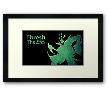 Thresh Chain The Warden Framed Print