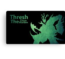 Thresh Chain The Warden Canvas Print