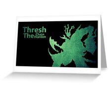 Thresh Chain The Warden Greeting Card