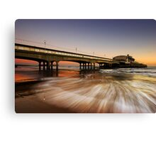 Wave Rush Canvas Print