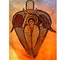 Coptic Archangel Photographic Print
