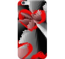 Extruded Hearts iPhone Case/Skin