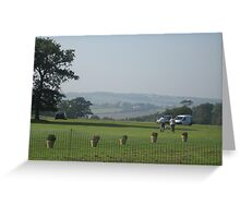 Hazy Hills (Sept 2008) Greeting Card