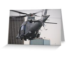 Navy Chopper Greeting Card