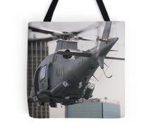 Navy Chopper Tote Bag