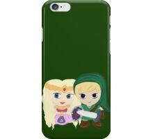 Link & Zelda Valentines: Missing Link iPhone Case/Skin