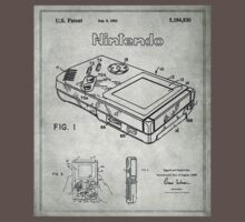 Game Boy Original Patent Kids Clothes