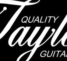 Oval Taylor Sticker