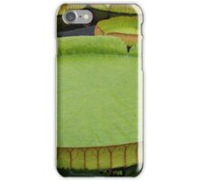 Giant Amazon lily pad. iPhone Case/Skin