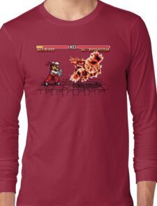 Super Smash Fighter Long Sleeve T-Shirt