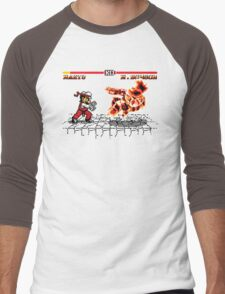 Super Smash Fighter Men's Baseball ¾ T-Shirt