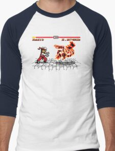 Super Smash Fighter Men's Baseball ¾ T-Shirt