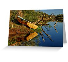 """Creekside Reflections"" Greeting Card"