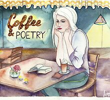 Coffee & Poetry by illustrofox